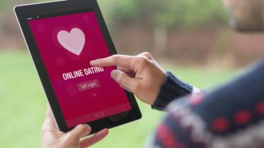 Online-Dating per Tablet